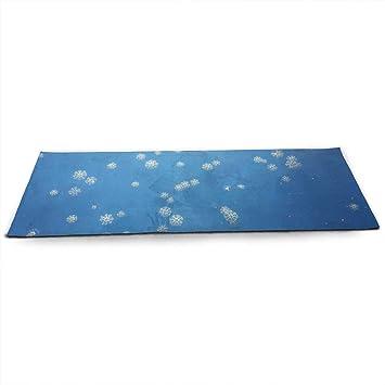 Amazon.com : CCRIM Undersea Snowflake Print Crystal Velvet ...
