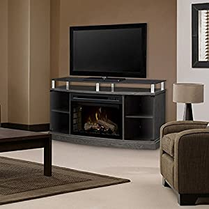 Windham Realogs Fireplace Media Console - 25 inch