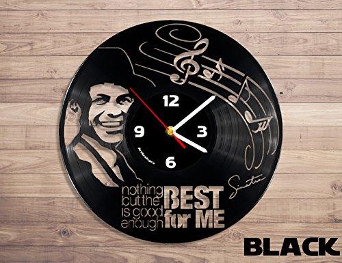 Frank Sinatra vinyl record wall clock