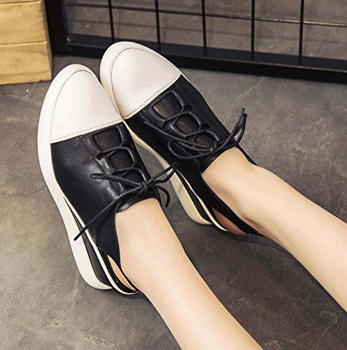 Slingback Sweet Shoes Black Shoes Pointed Dress Wedge Shoelace Slip Toe Sandals Elastic elevator Heel Breathable Women Eu 34 40 7cm shoes Sport Hollow Size Casual Pump Court Band Shoes Anti Snakers AwqtgA