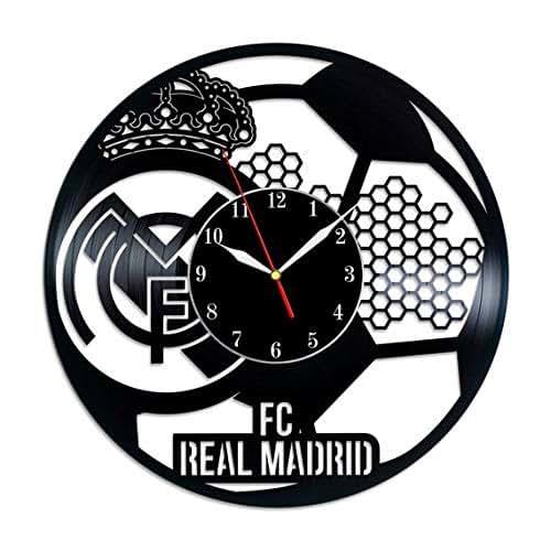 pretty nice f0f48 38ce6 Amazon.com: Real Madrid F.C. Vinyl Record Wall Clock ...