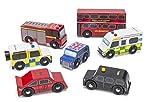 Le Toy Van Wooden London Car Set