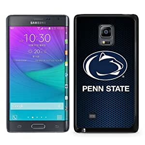 Beautiful Samsung Galaxy Note Edge Cover Case ,Newest And Durable Designed Case With Ncaa Big Ten Conference Football Penn State Nittany Lions 12 Black Samsung Galaxy Note Edge Case Unique And Cool Phone Case