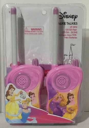 Disney Princess Walkie Talkies Rapunzel & Belle Pink