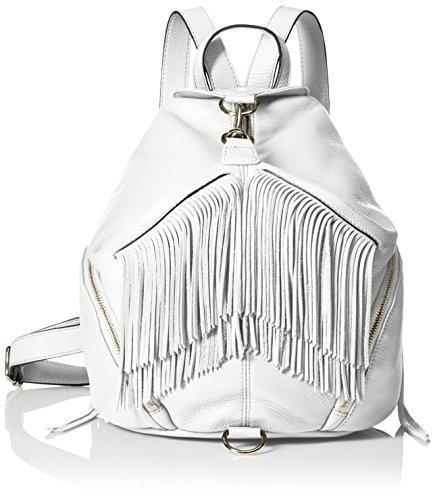 Rebecca Minkoff Fringe Julian Back pack, White, One Size by Rebecca Minkoff