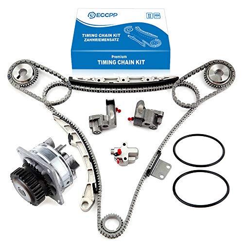 2002 350z Specs - ECCPP TS20967 Timing Chain Water Pump fits for 2002-2007 Nissan Murano 350Z Maxima VQ35DE 3.5L