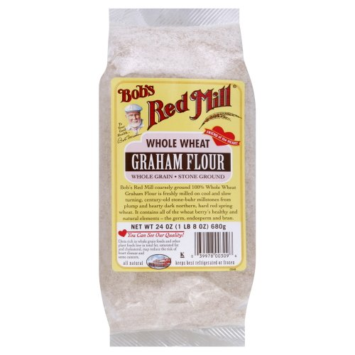 (Bobs Red Mill Flour Graham 24.0 OZ(Pack of 2))