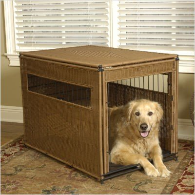 Mr. Herzher's Small Pet Residence, Dark Brown (Wicker Pet)