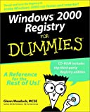 img - for Windows 2000 Registry For Dummies book / textbook / text book