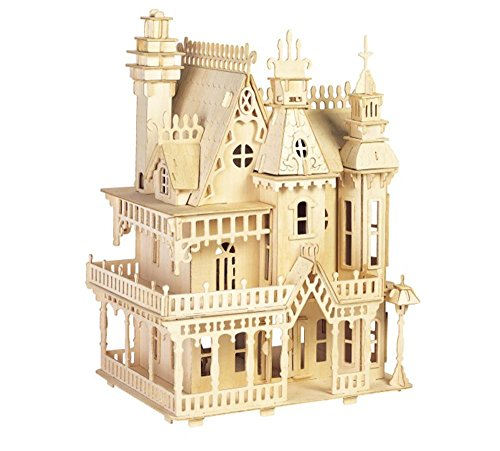 ULT-unite SEA-Land 3-D Wooden Puzzle (Fantasy Villa)