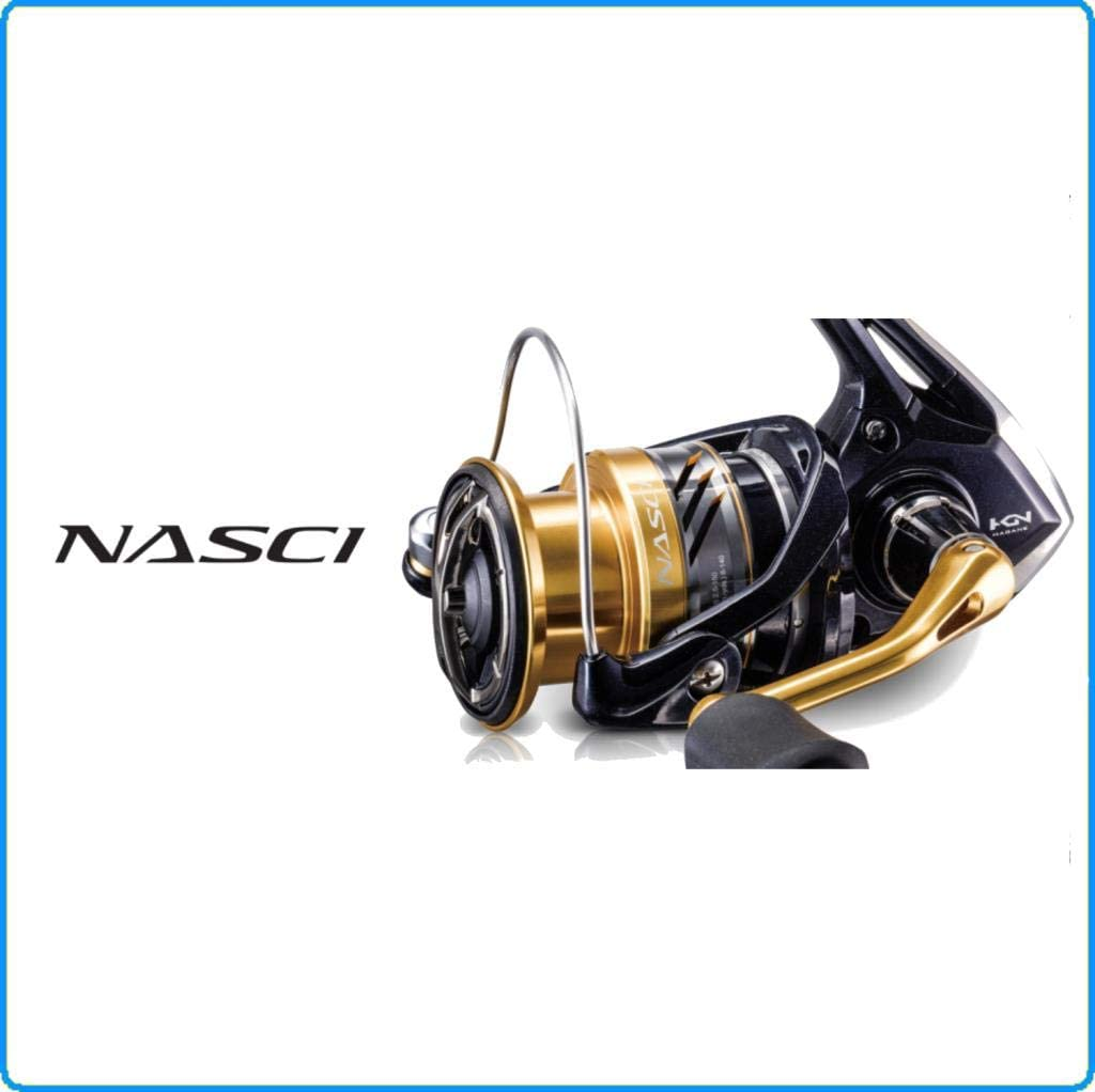 NAS4000XGFB NAS2500FB NAS1000FB NASC3000HGFB Shimano NASCI Spinning Reels