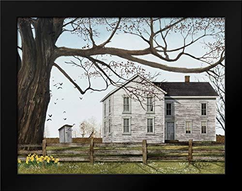 Morning Framed Poster - Spring Morning House 24x19 Framed Art Print by Jacobs, Billy