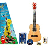 ChordBuddy Junior Guitar Learning Kit. Includes ChordBuddy Device, Child's Half Size Acoustic Guitar, Tuner and Picks