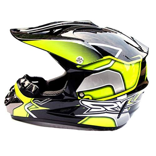 (Motocross Helmet Off Road Professional ATV Cross Helmets MTB DH Racing Motorcycle Helmet Dirt Bike 8 XL)