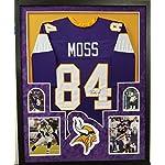 size 40 39b7c 61738 Signed Randy Moss Jersey - Purple Starter Size 54 BAS ...