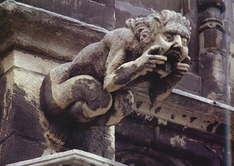 Holy Terrors Gargoyles On Medieval Buildings Janetta Rebold Benton 9780789201829 Amazon Books
