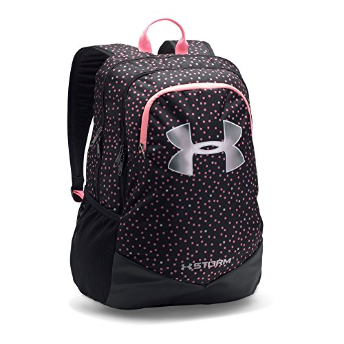 Under Armour Boys' Storm Scrimmage Backpack, Black/Pink, One Size