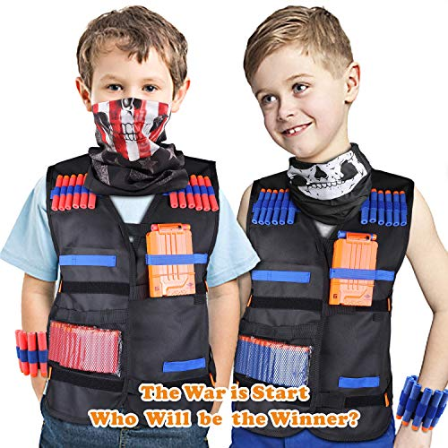 UWANTME Tactical Vest Kit 2 Pack for Nerf Guns N-Strike Elite Series by UWANTME (Image #6)