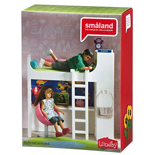 Lundby 60 2084 Smaland Loft Bed Playset Buy Online In