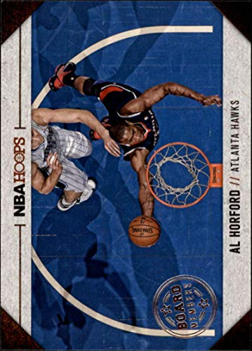 2013-14 NBA Hoops Board Members #4 Al Horford Atlanta Hawks Official Basketball Card (made by Panini) ()