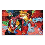Modern Movie Poster Colorful Print Wall Art