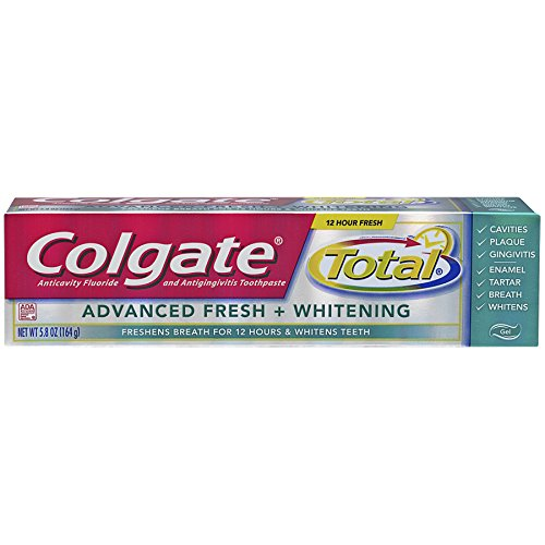 Total Advanced Fresh Toothpaste (Colgate Advanced Fresh Gel Toothpaste - 5.8 Ounces)