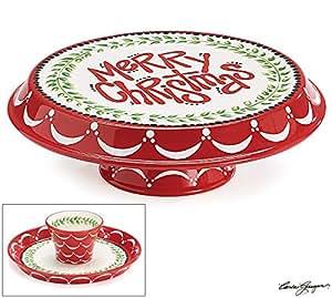 Burton And Burton Cake Plates