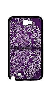 Back Cover Case Personalized Customized Diy Gifts In A galaxy note 2 case - vintage your text here