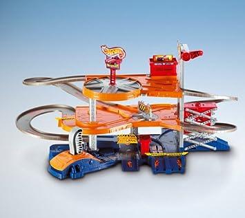 Mattel Hot Wheels B3133 0 Mega Garage Inkl 2 Hot Wheels