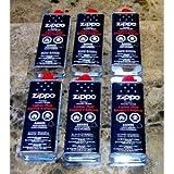 Zippo Premium Lighter Fluid 133 Ml - 4.68 Oz Lot of 6