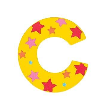 Bigjigs Toys Star Letter C Green