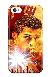 New Premium ZippyDoritEduard Cristiano Ronaldo Vs Barcelona Skin Case Cover Excellent Fitted For Iphone 4/4s