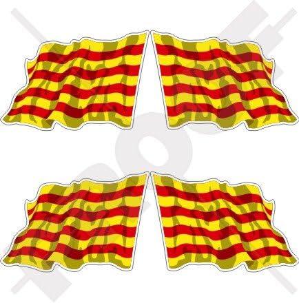 Cataluña catalán saludando bandera España catalunya 2