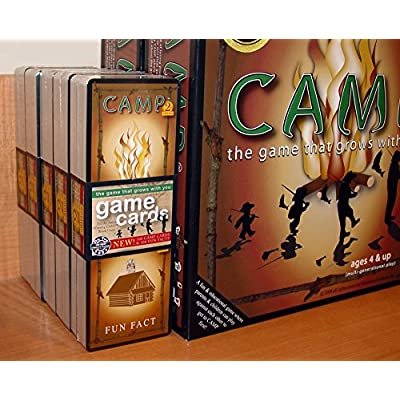 Education Outdoors Booster Pack for Camp Board Game: Toys & Games