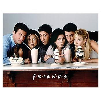 Friends Milkshakes TV Romantic Sitcom Television Show Postcard Poster Print Unramed 11x14