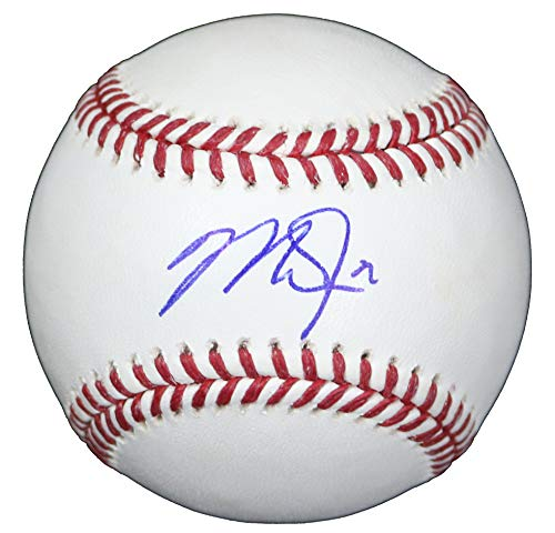 - Mike Trout Los Angeles Angels Signed Autographed Rawlings Official Major League Baseball LOA COA