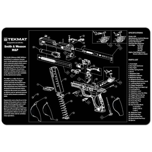 TekMat 11 Inch 17 Inch Handgun Cleaning product image