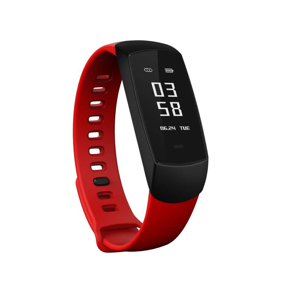 Amazon.com: Star_wuvi 0.96 OLED Smart Bracelet Watch Heart ...