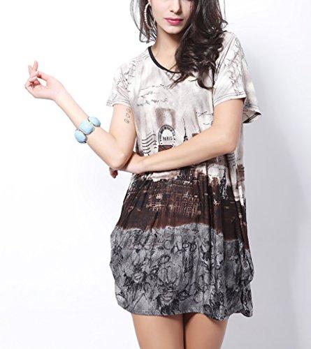 De neopreno para mujer Vlunt Batwing e instrucciones para hacer vestidos de calentadores vestido para disfraz camisetas F