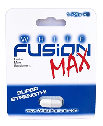 Whitefusion All Natural Super Strength Herbal Male Supplement - New! (1 Capsule)