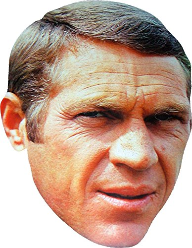 Mcqueen 3d Costume (Hollywood Star - Steve McQueen - Card Face Mask)
