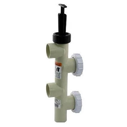 Pentair 263064 2 Inch PVC Slide Pump Backwash Valve for Side Mount Sand/DE  Filters