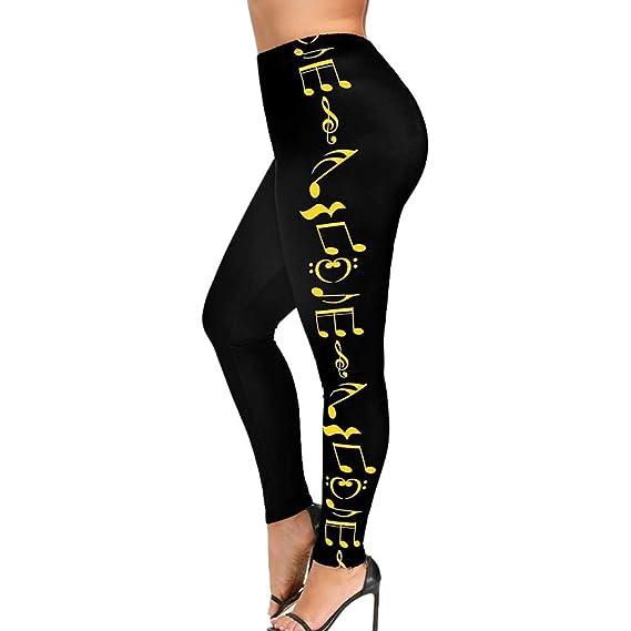 Luckycat Mujer Deportes Pantalones Deportes Gimnasio ...
