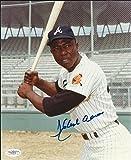 Autographed Hank Aaron 8x10 Photo JSA Atlanta Braves