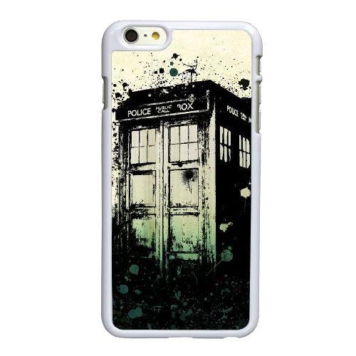 H9G29 Doctor Who e anniversaire M9U6DZ coque iPhone 6 4.7 pouces cas de couverture de téléphone portable coque blanche KP9XJV8SG