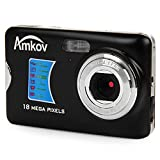 Amkov AMK-CDFE Mini Digital Camera 18 Megapixel 2.7 Inch Display Mini Portable High-definition Shooting Camera Pocket Camera For Sale