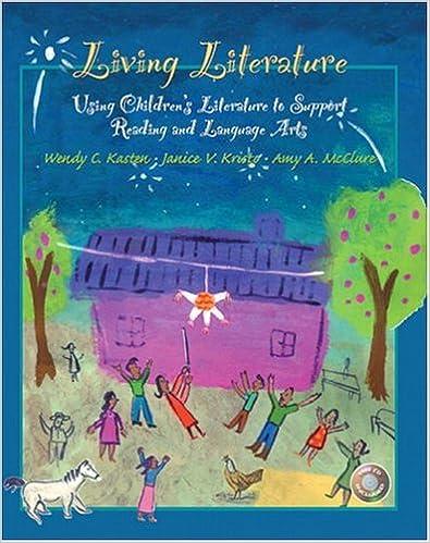 Amazoncom Living Literature Using Childrens Literature