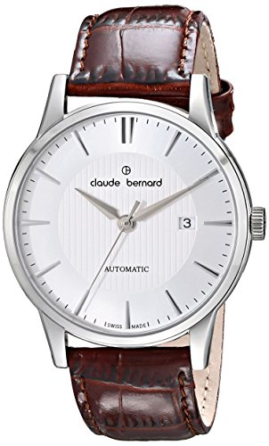 Claude Bernard Men's 80091 3 AIN Classic Automatic Analog Display Swiss Automatic Brown Watch