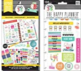 Create 365 Happy Planner Value Pack and TGIF Snap-In Pack (Set of 2 items) (Teacher, 1733 Stickers)