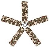Fan Blade Designs Camouflage Ceiling Fan Blade Covers